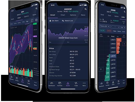 e trade mobile app